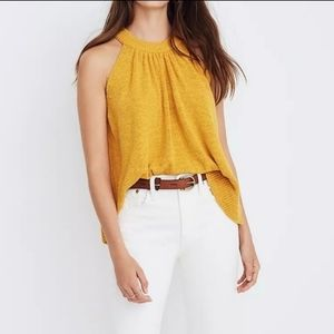Madewell Gathered Sweater Tank